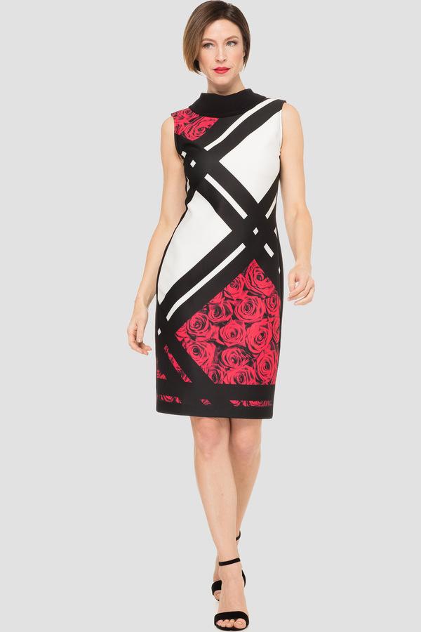 Joseph Ribkoff Black/Multi Dresses Style 191709