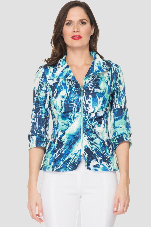 Joseph Ribkoff Blue/Multi Jackets Style 191759