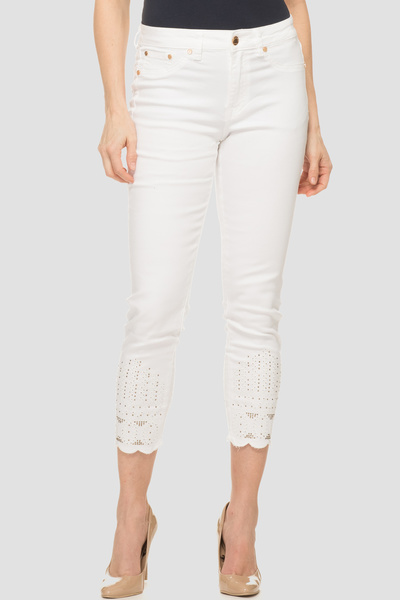 Joseph Ribkoff Jeans Blanc Style 191975