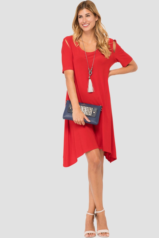 Joseph Ribkoff Robes Rouge à Lèvres Style 182001
