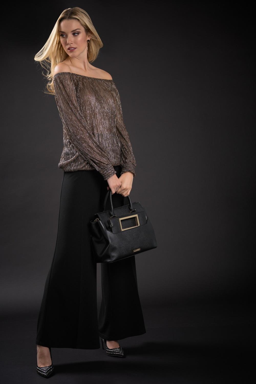 Joseph Ribkoff Chemises et blouses Cuivre/Noir Style 184554