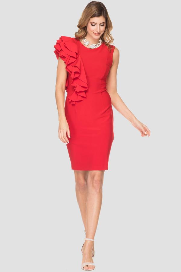 Joseph Ribkoff Lipstick Red 173 Dresses Style 192010