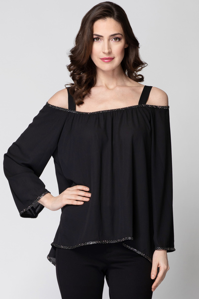 Joseph Ribkoff Black Shirts & Blouses Style 192251