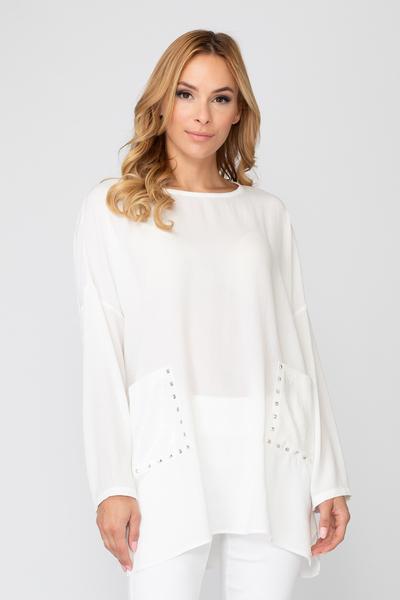 Joseph Ribkoff Ivory Shirts & Blouses Style 192408