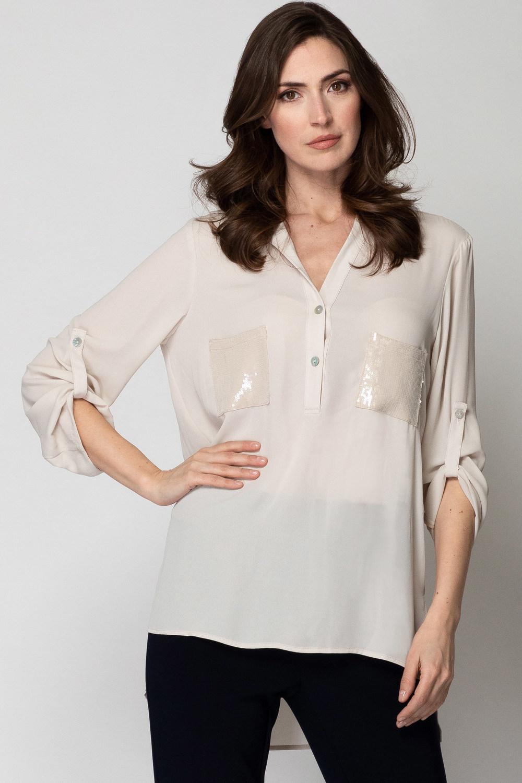 Joseph Ribkoff Champagne 171 Shirts & Blouses Style 192461