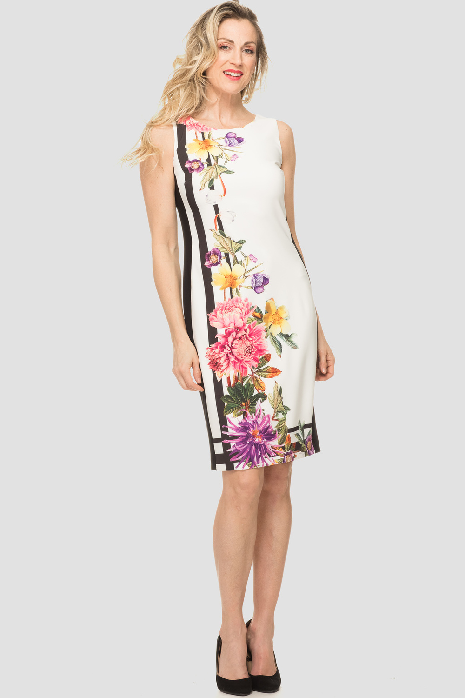 Joseph Ribkoff OFF-WHITE/MULTI Dresses Style 192653