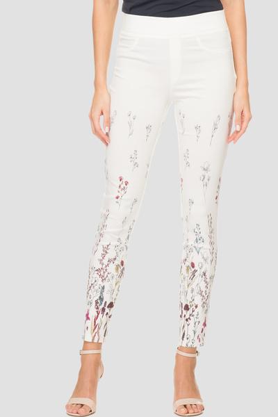 Joseph Ribkoff WHITE/MULTI Pants Style 192664