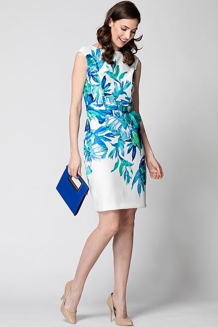 Joseph Ribkoff Vanilla/Multi Dresses Style 192704