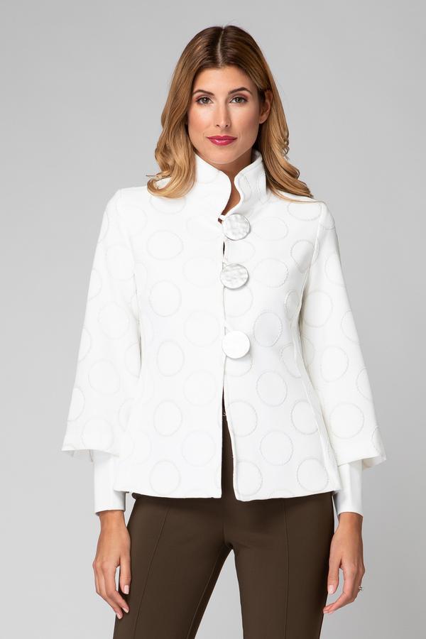Joseph Ribkoff Ivory Jackets Style 192753