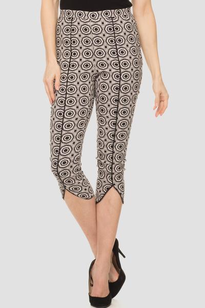 Joseph Ribkoff Black/Blush Pants Style 192764