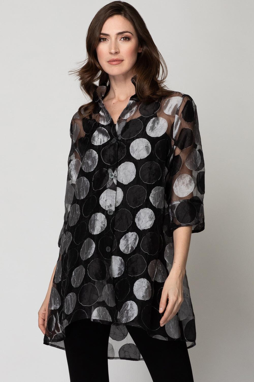 Joseph Ribkoff Black/Grey Jackets & Blazers Style 192812