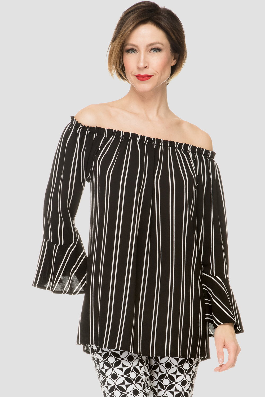 Joseph Ribkoff Chemises et blouses Noir/Blanc Style 192900