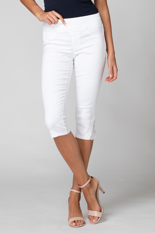 Joseph Ribkoff Jeans Blanc Style 192981