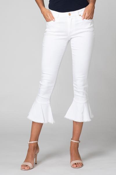 Joseph Ribkoff White Jeans Style 192983