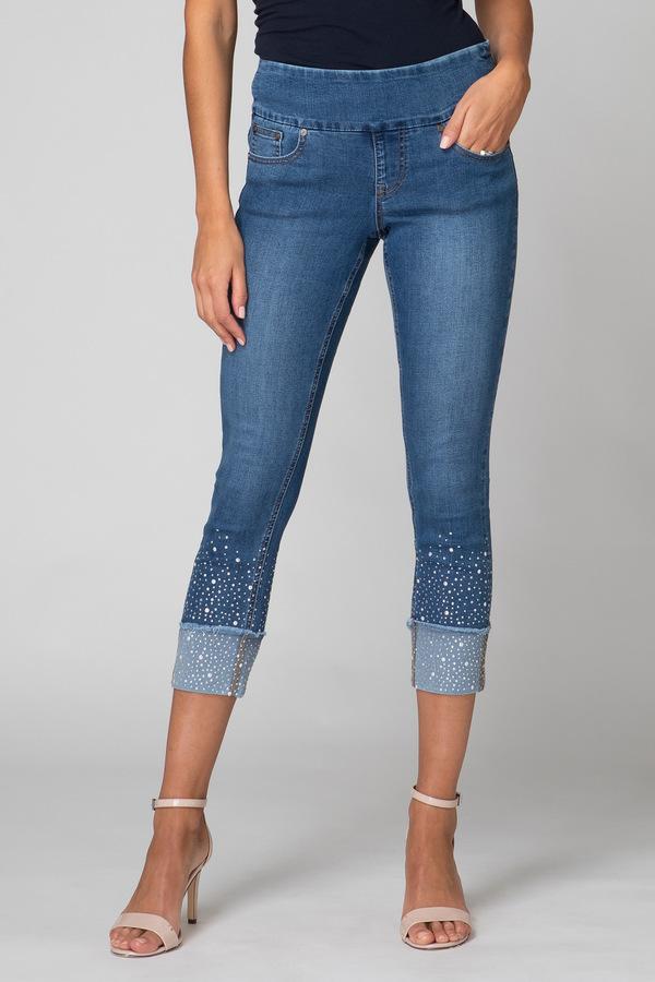 Joseph Ribkoff Jeans Bleu Style 192988