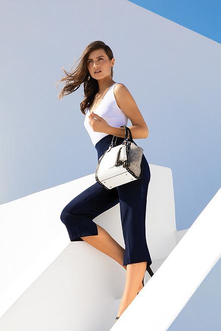 Joseph Ribkoff Pantalons Bleu Minuit 40 Style C143105