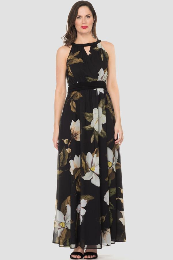 Joseph Ribkoff Black/Off White Dresses Style 193581