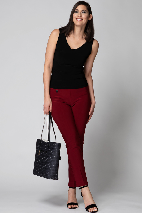 Joseph Ribkoff IMPERIAL RED 193 Pants Style 144092