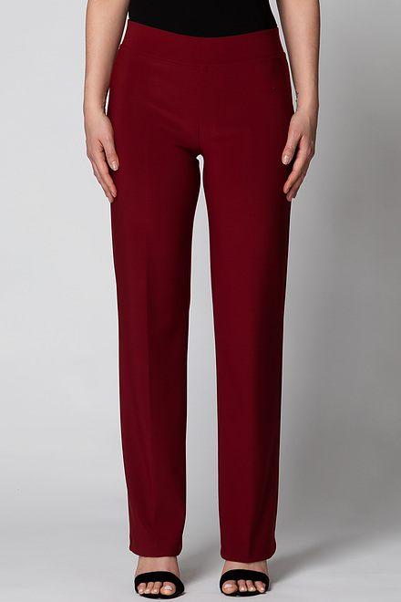 Joseph Ribkoff Pantalons Rouge Impérial 193 Style 153088