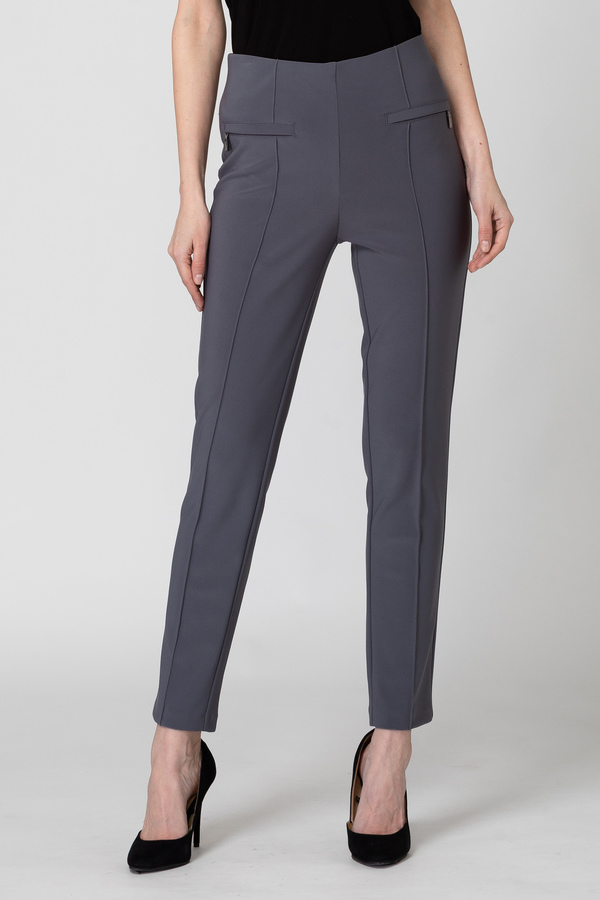 Joseph Ribkoff Pant style 171094. Smokey Grey 163