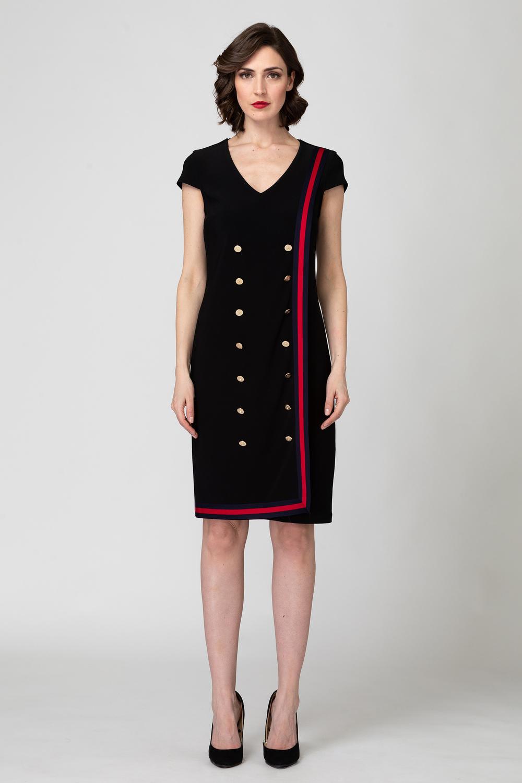 Joseph Ribkoff Black Dresses Style 193006