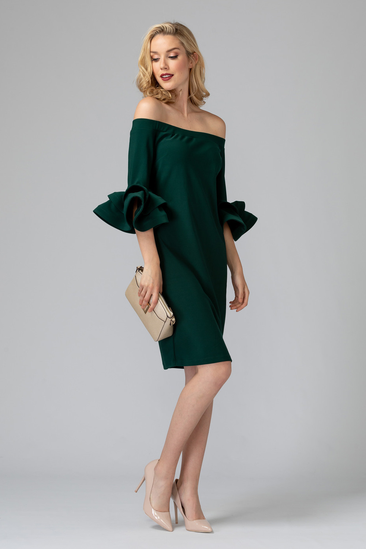 Joseph Ribkoff PURE EMERALD 193 Dresses Style 193007