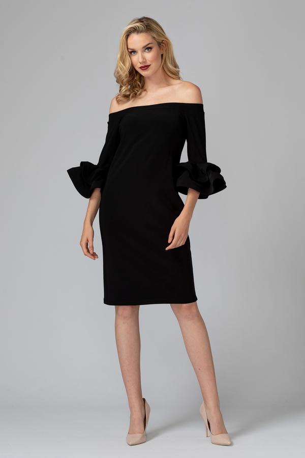 Joseph Ribkoff Black Dresses Style 193007