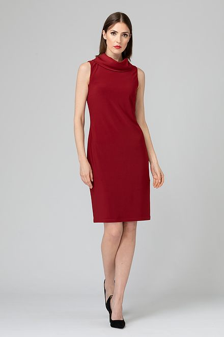 Joseph Ribkoff IMPERIAL RED 193 Dresses Style 193012