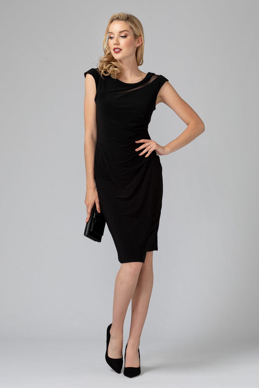 Joseph Ribkoff Black Dresses Style 193016