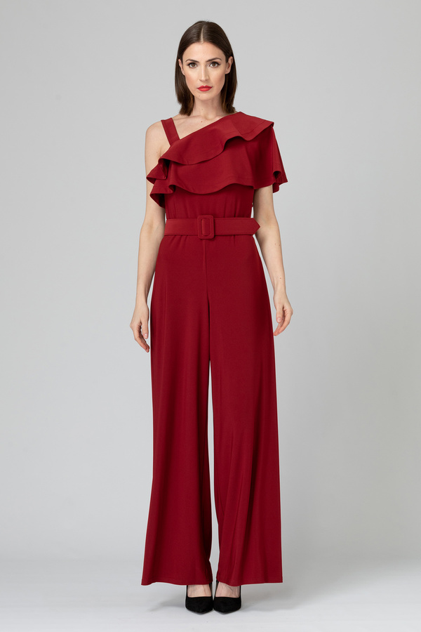 Joseph Ribkoff IMPERIAL RED 193 Jumpsuits Style 193054