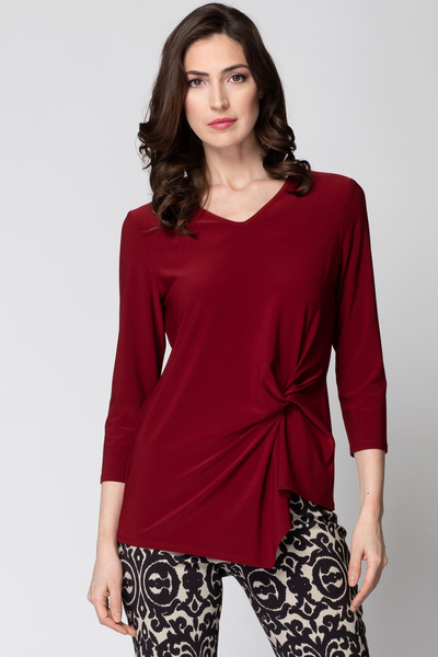 Joseph Ribkoff IMPERIAL RED 193 Tees & Camis Style 193138