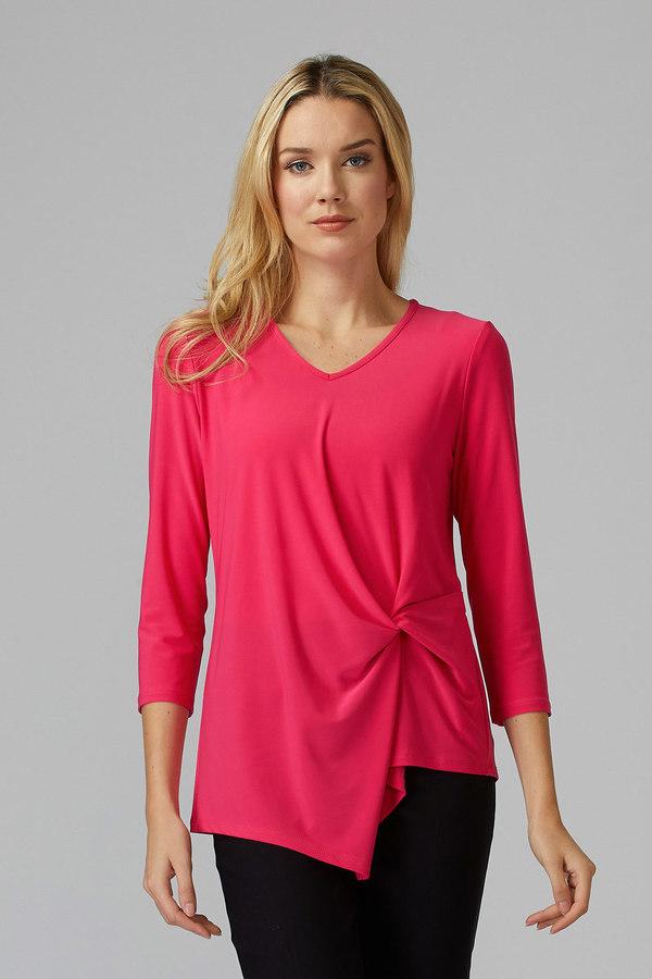 Joseph Ribkoff Tee-shirts et camisoles Rose Vif Style 193138
