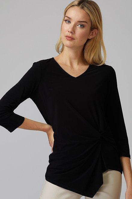 Joseph Ribkoff Tee-shirts et camisoles Noir Style 193138