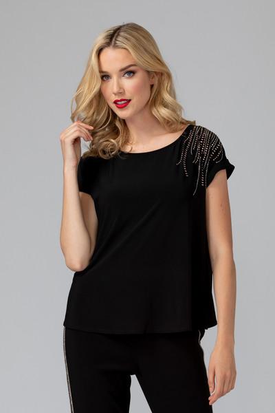 Joseph Ribkoff Tee-shirts et camisoles Noir Style 193151