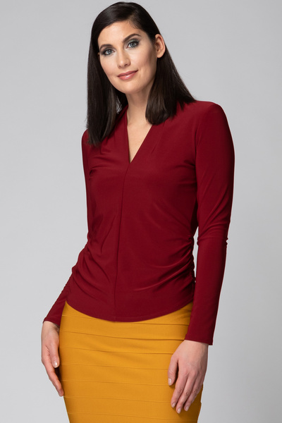 Joseph Ribkoff Tee-shirts et camisoles Rouge Impérial 193 Style 193156