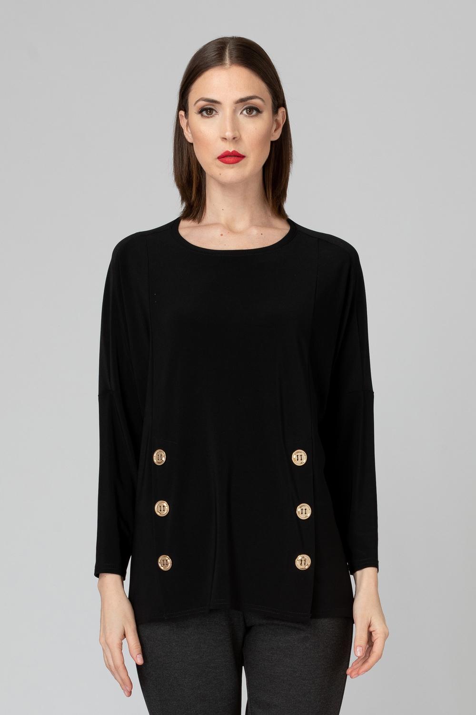 Joseph Ribkoff Black Tees & Camis Style 193159