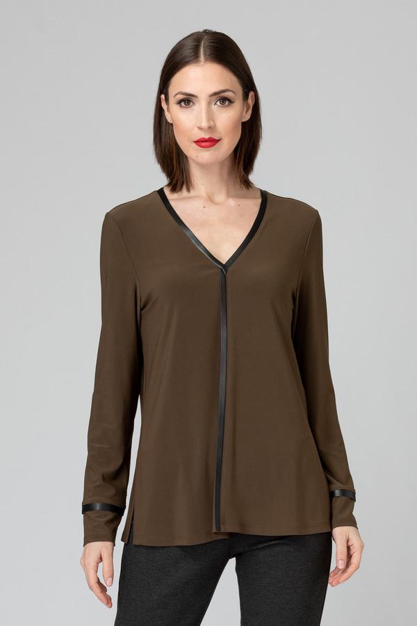 Joseph Ribkoff Tee-shirts et camisoles Safari/Noir Style 193160