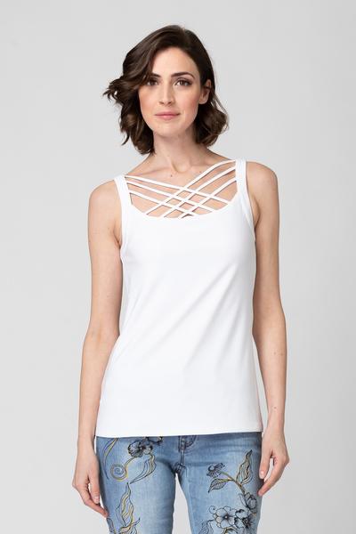 Joseph Ribkoff Tee-shirts et camisoles Vanille 30 Style 193165