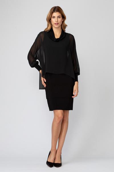 Joseph Ribkoff Black Dresses Style 193202
