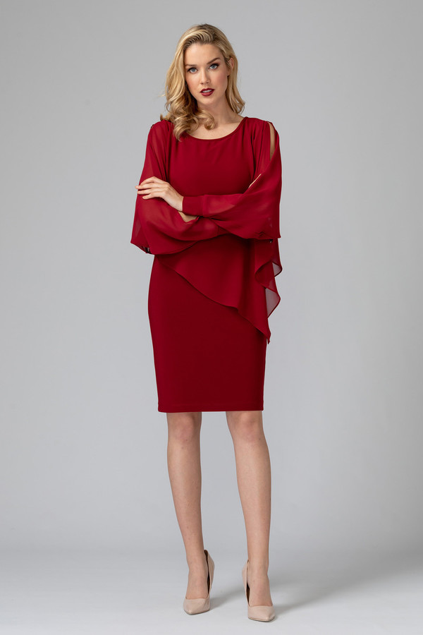 Joseph Ribkoff Robes Rouge Impérial 193 Style 193205