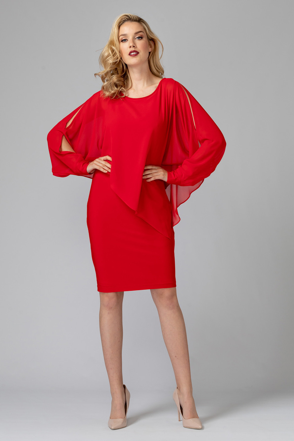Joseph Ribkoff Robes Rouge A Levres 173 Style 193205