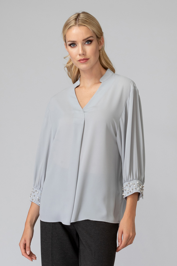 Joseph Ribkoff GREY FROST  193 Shirts & Blouses Style 193254