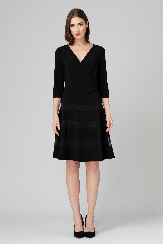Joseph Ribkoff Robes Noir Style 193293