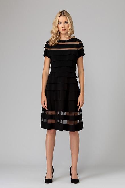 Joseph Ribkoff Black Dresses Style 193310