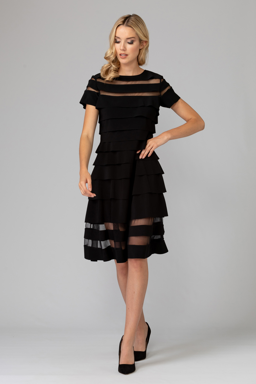 Joseph Ribkoff Robes Noir Style 193310