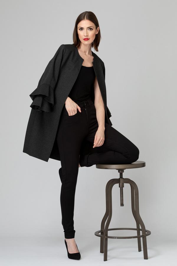 Joseph Ribkoff Charcoal Grey Outerwear Style 193362