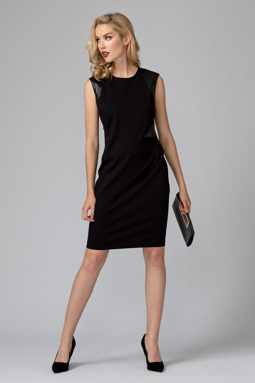 Joseph Ribkoff Black Dresses Style 193369