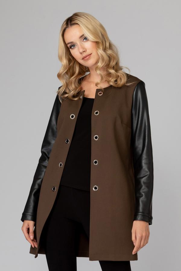 Joseph Ribkoff SAFARI/BLACK Jackets Style 193404
