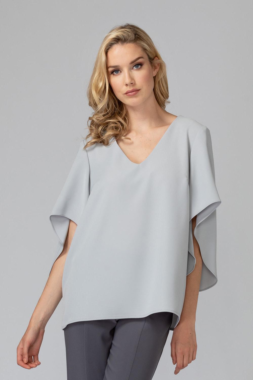 Joseph Ribkoff GREY FROST  193 Shirts & Blouses Style 193450