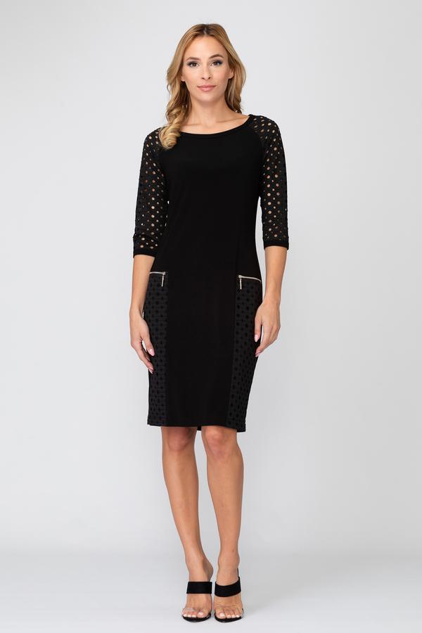 Joseph Ribkoff Black Dresses Style 193459